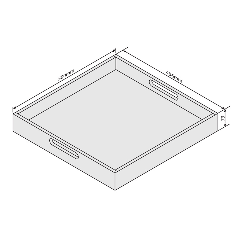 Tray Dimensions