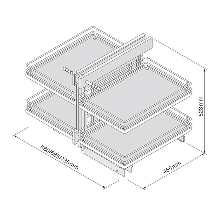 Corner Optimiser Dimensions