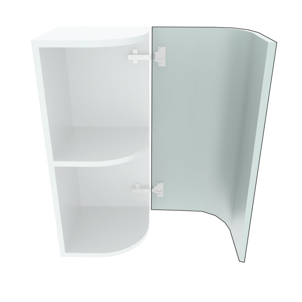 895mm High Curved Door (R=191mm)
