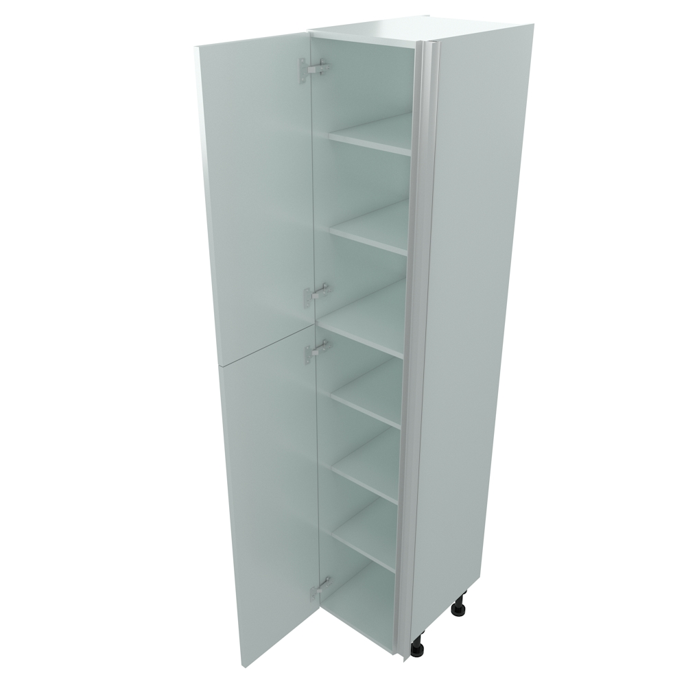 400mm True Handleless Larder Unit - LH Hinge - High