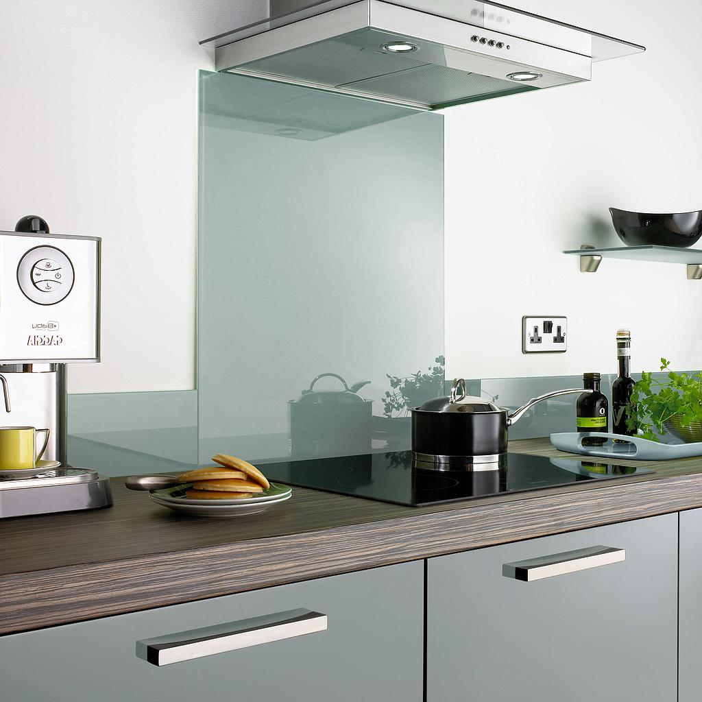 Aurora Glass Splashbacks - Light Blue