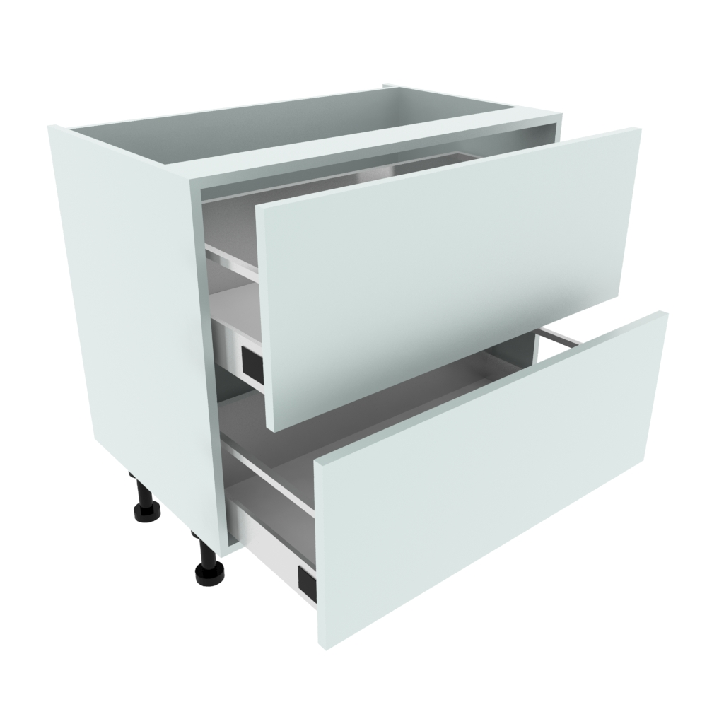 900mm 2 Drawer Base Unit