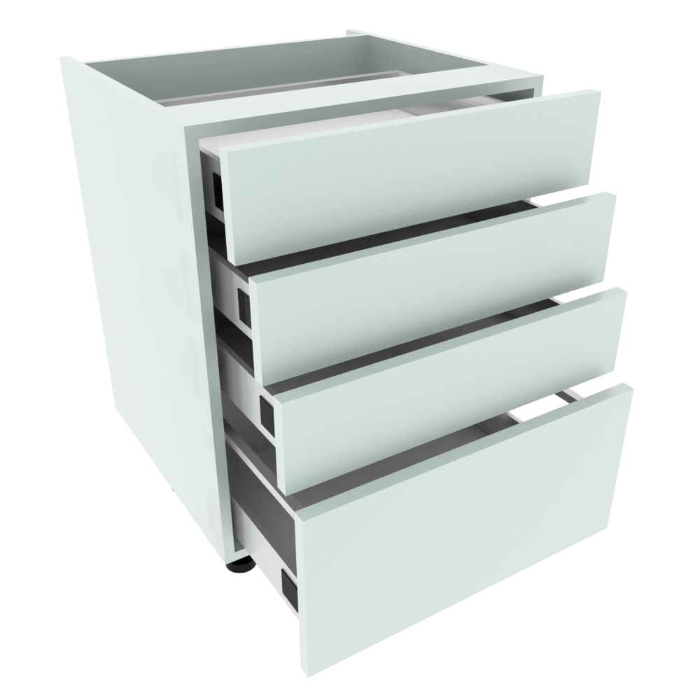 600mm 3+1 Pan Drawer Base Unit