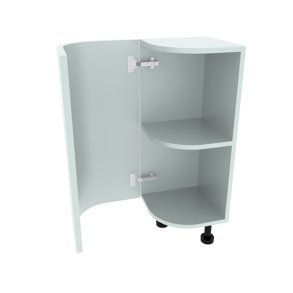 Curved Base Unit - 300 x 300mm - (R=165mm) (Left End)