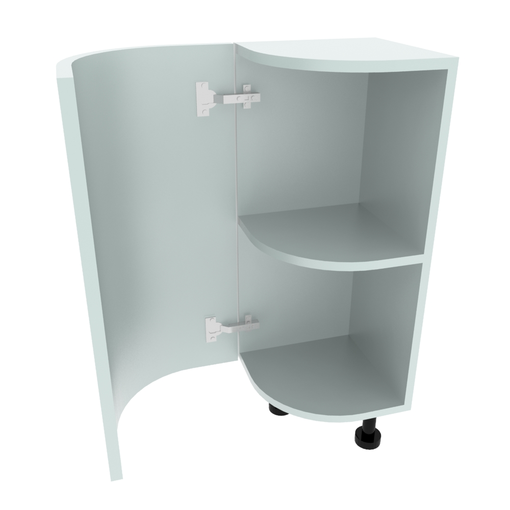 Curved Base Unit - 300 x 300mm - (R=188mm) (Left End)