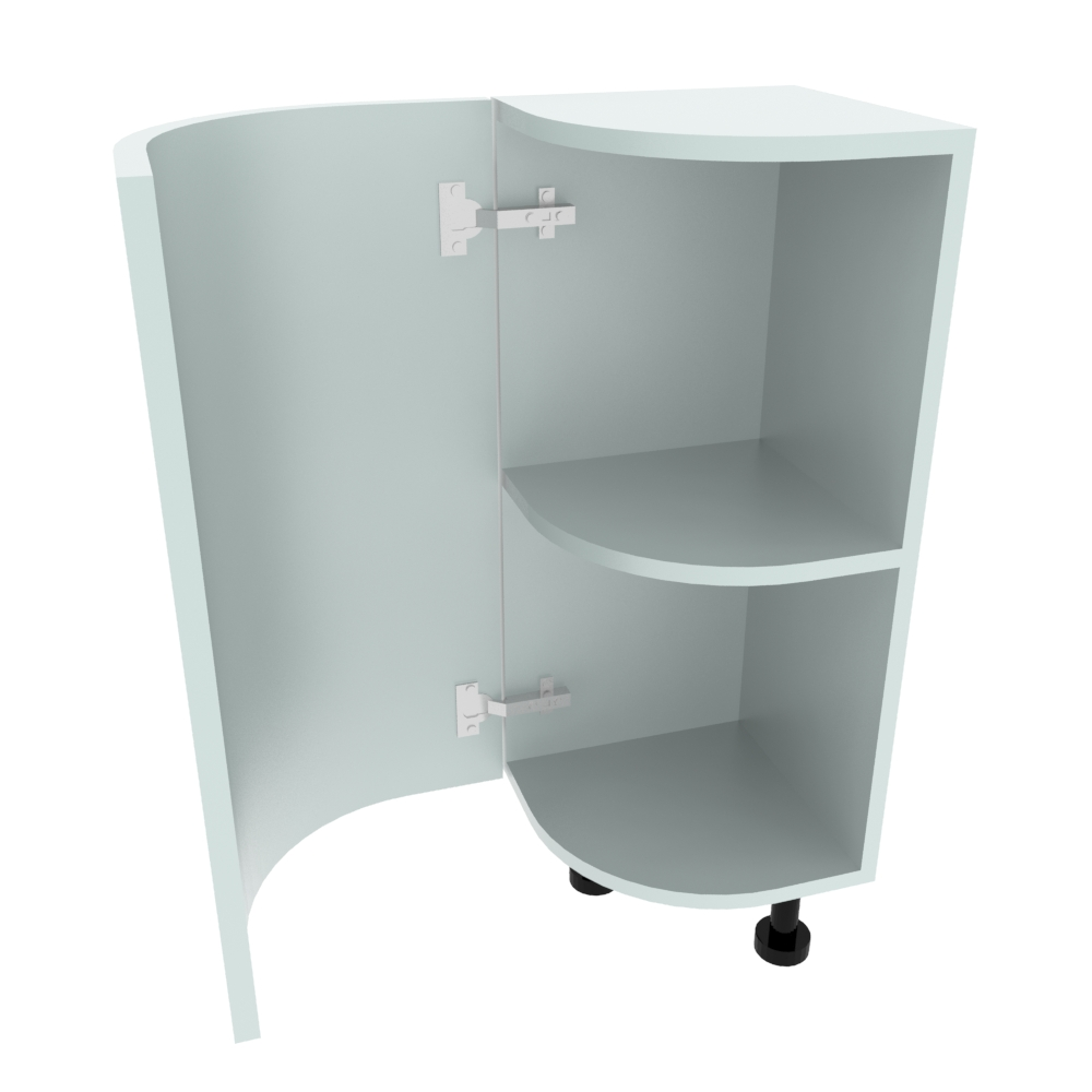 Curved Base Unit - 300 x 300mm - (R=191mm) (Left End)