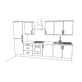 8 Unit Kitchen